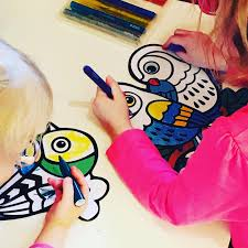 For little ones - Colouring